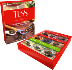 A composition of 9 kinds of Теss leaf tea